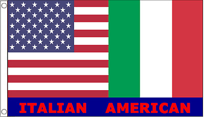 United States of America USA & Italy (Italian American) Friendship 5'x3' Flag