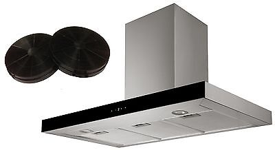 Cookology LINT1000SS 100cm Stainless Steel Linear Cooker Hood & Carbon Filters