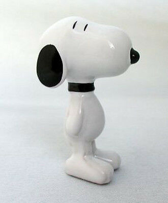 """Wade Snoopy (Peanuts)  Whimsie - black collar - height 2 1/2"""""""