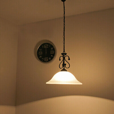 LED Pendulum Light Rustic Country House Style Pendant Lamp Chandelier Ceiling
