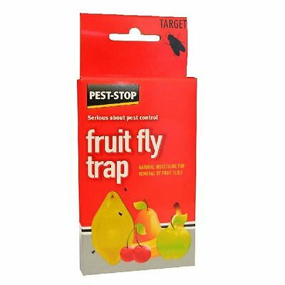 Pest Stop Fruit Fly Trap Natural Insecticide