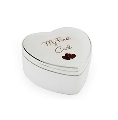 'My First Curl' Trinket Box ~ Keep Your Baby's First Curl Safe ~ Perfect Gift!