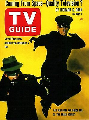 1960s TV GUIDE magazine THE GREEN HORNET replica fridge magnet - new!