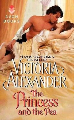 The Princess and the Pea by Victoria Alexander Mass Market Paperback Book (Engli