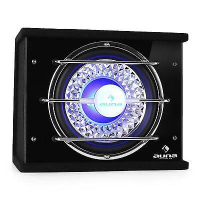 "Auna Bass Box Subwoofer Per Auto 10"" 600W Effetto Luce Car Audio Bassi Potenti"