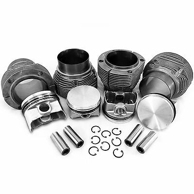 96mm 1.7/1.8L Porsche 914 / VW Type 4 Bus Pistons with Biral Cylinders