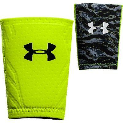 Under Armour GameDay Adult Baseball Protective Wrist Guard Hi-Vis Yellow S/M