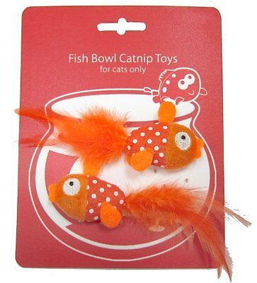 Happy Meow Goldfish Catnip Toy Toy Game Kids Play Gift Pet Supplies Interactive