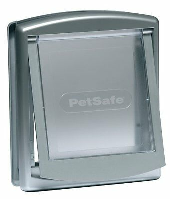 Petsafe Staywell Original 2-Way Pet Door Small Silver Pet Supplies For Cats & N