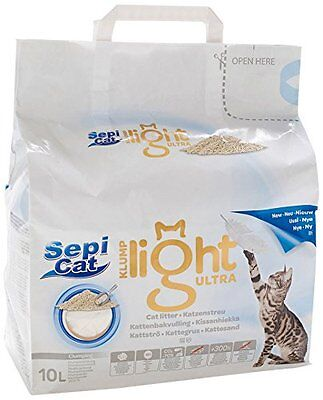 Sepicat Clumping Ultra Light Cat Litter Pet Supplies A Premium Clumping Cat Lit