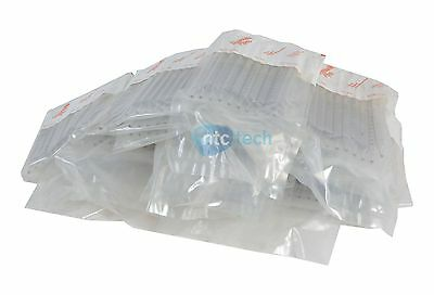 New Corning Pyrex Disposable 10ml 2/10 TD-EX Sterile Plugged Glass (LOT of 330)