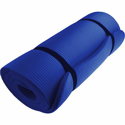 Yoga Mats Very Good Quality15mm Thick Choice of Colours England Stock Pilates