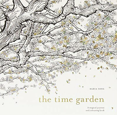The Time Garden A Magical Journey Colouring Book By Daria Song English N