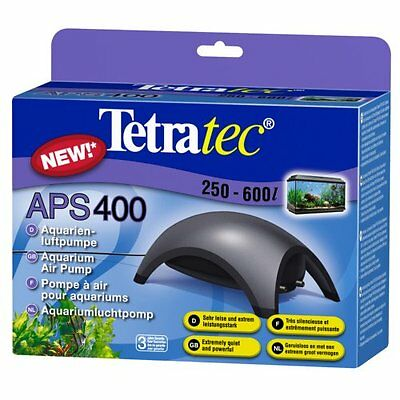 Tetra Aps400 Air Pump Pet Supplies For Tanks 250 To 600L 2 Outlets, 2 Valves New
