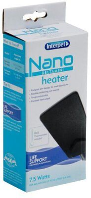 Interpet Delta Mini Nano Aquarium Heater 7.5 Watts For Up To 12 Litre Aquariums