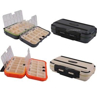 Portable 100% Waterproof Carp Coarse Fishing Tackle Lure Storage Box Case Holder