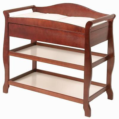 Aspen Changing Table with Drawer, Cherry - 00524-584