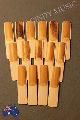 NEW 15pcs Traditional Tenor Sax Reeds Reed bB 2.5 Strength