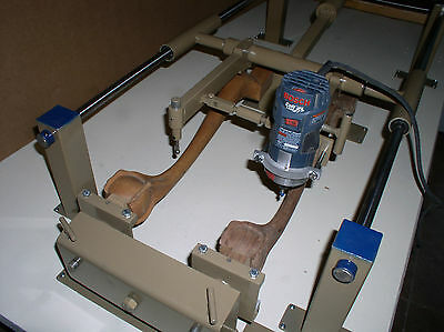 Ball and Claw Leg Carving Machine. Carves an Incredible Range of Items
