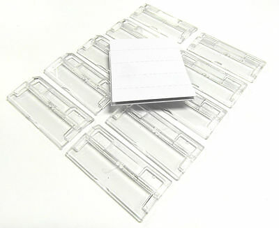 50 x SUSPENSION FILE TABS COMPLETE WITH INSERTS-ONLY £3.99 INC P&P