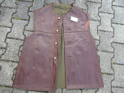 Jerkins Lederweste Horsehide Vest Military True Vintage Army Leather Jerkin #1