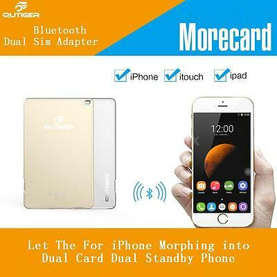 Qutiger Extended Secondary Card Dual SIM Card Standby for iPhone iTouch I2E4