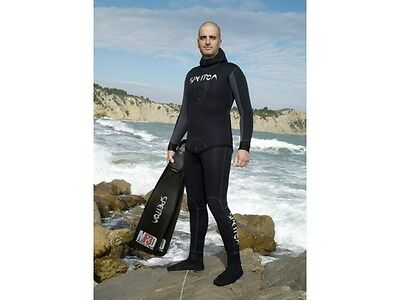 Spetton Black Fishman Pro 3mm Spearfishing Wetsuit - 2 piece long john & jacket