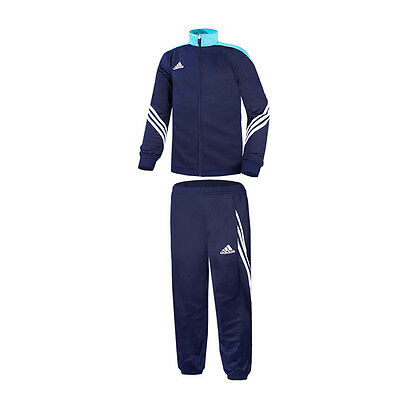 Adidas Sereno 14 Polyester Suit Childrens Suit Navy Cyan F49708 Football