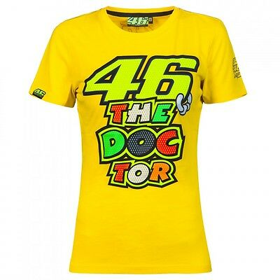 Official Valentino Rossi VR46 Woman's Doctor T-Shirt   - VRWTS 205501