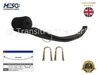 O.e. Heavy Duty Rear 2 Two Leaf Spring Master Movano Interstar 1998-2010
