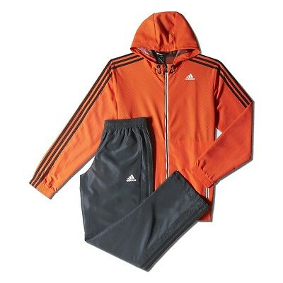Mens Adidas Performance TS Train Full Tracksuit Top And Bottoms Size S-XXXL NEW