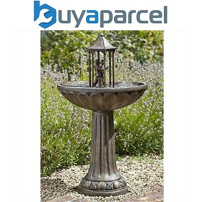 Smart Garden Solar Dancing Couple Garden Water Feature Fountain Bath 1170441
