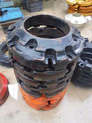 JOHN DEERE KUBOTA CASE MAHINDRA TRACTOR 105-lb REAR WHEEL WEIGHT #JD5000RW-2