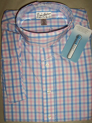 Tailored Sportsman Ladies Coolmax Horse Show Shirt, sz 2, 4, Blue/Pink NWT