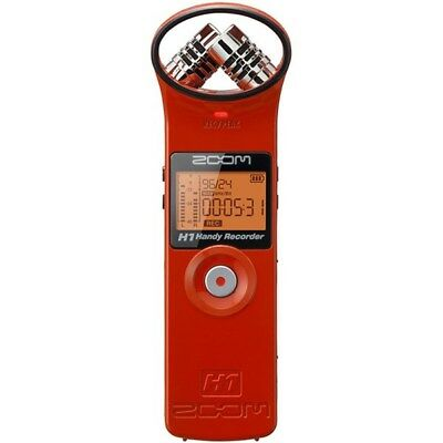 Zoom H1 Handy Recorder (Red)