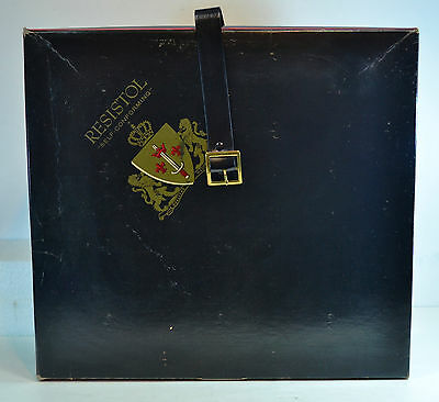 Vintage Men's Hat Box Resistol with Strap (Box only - no hat)