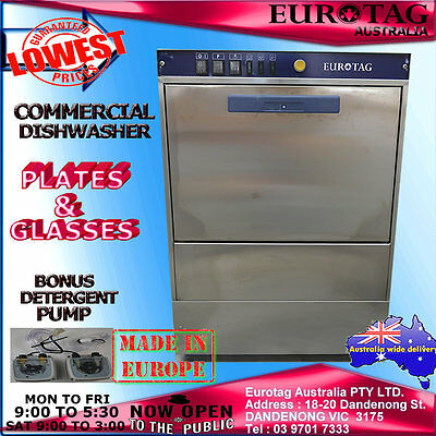 EUROTAG Commercial Undercounter Dishwasher BrandNew Cafe Bar Restaurant $$$$