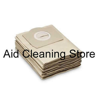 Karcher A2201 A2204 A2206 A2234 Wet & Dry Vacuum Cleaner Dust Bags 5PK AB27