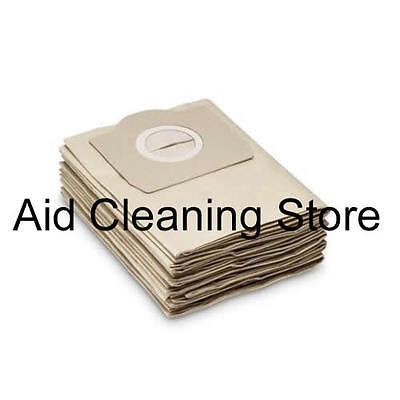 Karcher WD3.230 WD3.250 WD3.300 Wet & Dry Vacuum Cleaner Dust Bags 5PK AB27