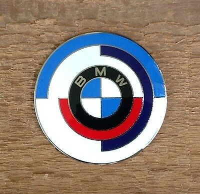 BMW Vintage Motorsport Roundel Grill Badge 60mm Diameter