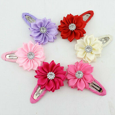 Bright Girls Sunflowers Hair Clips Accessories Hairpins for Kids Baby EOZ