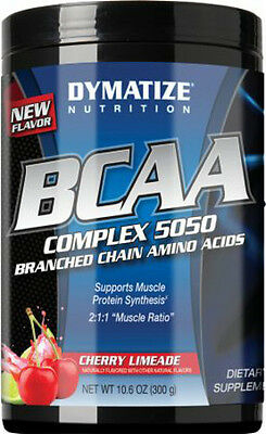 New Dymatize Nutrition BCAA Complex 5050 - 300g - Branched Chain Amino Acids