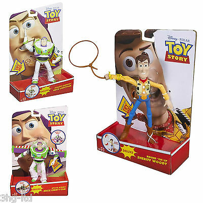 Toy Story Luxus Karate Chop Space Flügel Buzz Lasso Woody Aktion Figuren