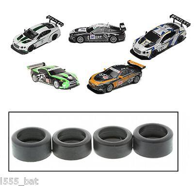New Scalextric W9828 Tyres Pack For Jaguar XKR GT3 & Bentley Continental GT3