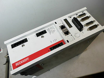 BECKHOFF -- AX52 Twin Axis Servo-Drive -- AX5206-0000 -- 2 x 6 amps Out ETHERCAT