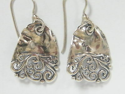 WOW! SHABLOOL ISRAEL Didae Handcrafted Sterling Silver 925 Earrings