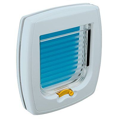 Ferplast Swing 1 Cat Door White Pet Supplies Cat Flap Easy Fitting In & Out Ope