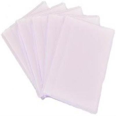 Pack Of 5 Portrait Style Replacement Plastic Credit Card Insert Sleeves 5013 New