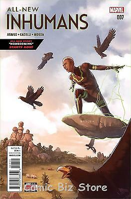 All New Inhumans #7 (2016) 1St Printing  Bagged & Boarded