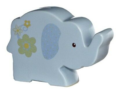 Aurora - Ceramic Money Bank - Blue Elephant